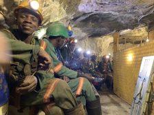 men underground